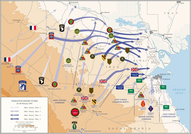 Operation Desert Storm from wikimedia.com